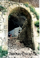 Entrance to Tunnel and Ermita, C. A. Roberts 1997
